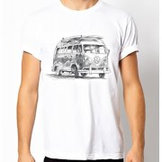 Fair-T Mens Fairtrade VW Campervan T-Shirt