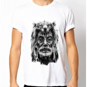 Fair-T Mens Fairtrade Wolf T-Shirt