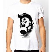 Fair-T Mens Fairtrade Gasmask T-Shirt