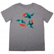 The Fableists 'Recycle' Organic Unisex T-Shirt - Grey