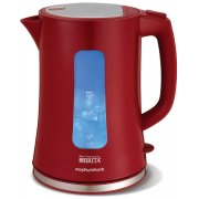 Morphy Richards Brita Filter Kettle Red with Steel lid