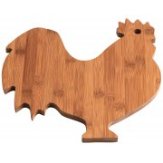 Bamboo Rooster Chopping Board