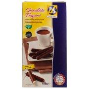 DS Gluten Free Chocolate Fingers - 150g