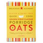 Delicious Alchemy Gluten Free Golden Syrup Porridge Sachets - 216g