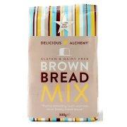 Delicious Alchemy Gluten Free Brown Bread Mix - 340g