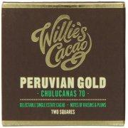 Willies Cacao Peruvian Chulucanas 70% Dark Chocolate Bar - 80g