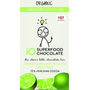 IQ Superfood Lovely Lime Raw Chocolate - 35g