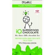 IQ Superfood Plush Peppermint Raw Chocolate - 35g