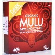 Mulu Dairy Free Dark with Cocoa Nibs Raw Chocolate - 68g