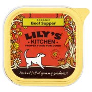 Lily's Kitchen Organic Beef & Spelt Dinner For Dogs - 150g