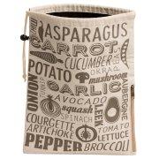Vegetable Preserving Bag - Grey & Natural