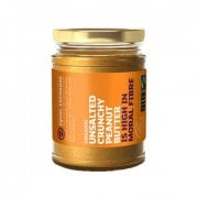 Equal Exchange Fairtrade, Organic Unsalted Crunchy Peanut Butter