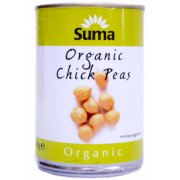 Suma Organic Chickpeas 400g