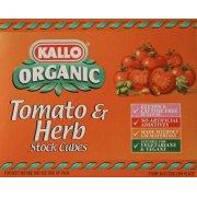 Kallo Tomato & Herb Stock Cubes 66G