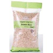 Suma Prepacks Organic Brown Long Grain Rice 750g