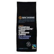 Equal Exchange Ethiopian Yirgacheffe Roast & Ground Coffee 227g