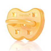 Hevea 0-3m Natural Rubber Soother -  Round