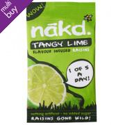 Nakd Lime Flavoured Raisins 25g
