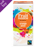 Fruit Passion Fairtrade Orange Juice 200ml