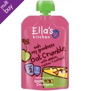 Ella's Kitchen Apple, Raisin & Oat Crumble 80g