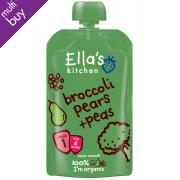 Ella's Kitchen Broccoli, Pear & Peas