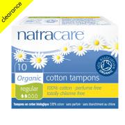 Natracare Organic Cotton Tampons - Regular - 10