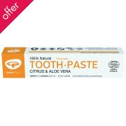 Green People Aloe Vera & Citrus Toothpaste - 50ml