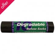 10 d2w Degradable Refuse Sacks