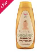 Beaming Baby Organic Baby Care Shampoo & Bodywash - 250ml