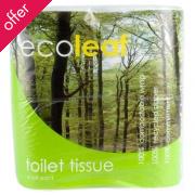 Ecoleaf Toilet Tissue - Pack of 4