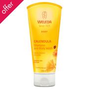 Weleda Baby Shampoo & Body Wash - Calendula - 200ml