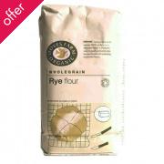 Doves Farm Organic Wholemeal Rye Flour  1Kg