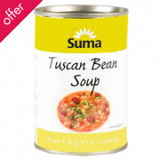 Suma Tuscan Bean Soup 400g