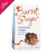 Burnt Sugar Crumbly Fudge with Sea Salt 150g