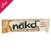 Nakd Banana Bread Wholefood Bar 30g