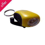 Power Plus Bee Wind up LED Torch Key Chain