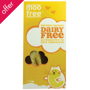 Moo Free Dairy Free Banana Chocolate Bar 100g