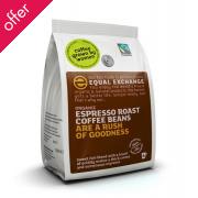 Equal Exchange Organic Espresso Whole Bean Coffee - 227g