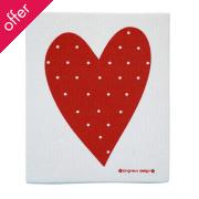 Heart Jangneus Design Cloth - Various Colours