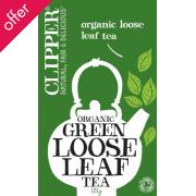 Clipper Organic Green Loose Leaf Tea - 125g