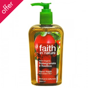 Faith In Nature Pomegranate & Rooibos Handwash - 300ml
