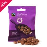 Traidcraft Fair Trade Chocolate Raisins 40g