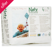 Naty by Nature Babycare Pull On Disposable Nappy Pants - Maxi/Maxi Plus - Size 4 - Pack of 22