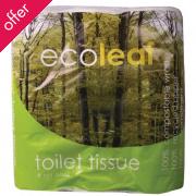 Ecoleaf Toilet Tissue - 9 Rolls