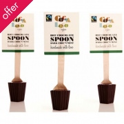 Cocoa Loco Hot Chocolate Spoon - Dark Choc'N'Mint 30g