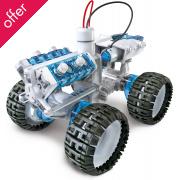 Salt Water Powered 4 x 4 Monster Car