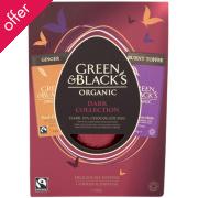 Green & Blacks Organic Dark Easter Egg with Bars 365g
