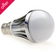 B22-400 Lumilife LED Bayonet Light Bulb 5 Watt (60W Equivalent)