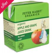 Peter Rabbit Organic Apple & Grape Juice 150ml