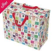 Recycled Jumbo Bag Alphabet